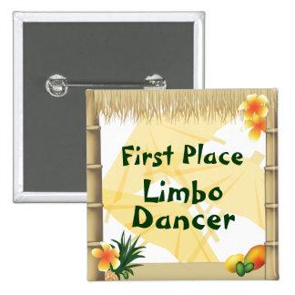 Bouton fictif de récompense de danseur de premier badges