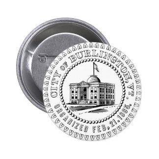 Bouton fier de Burlington Badges