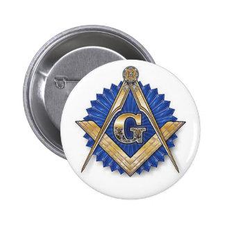 Bouton final de franc-maçon badge