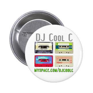 Bouton frais du DJ C Badges