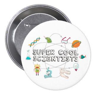 Bouton frais superbe de scientifiques badges