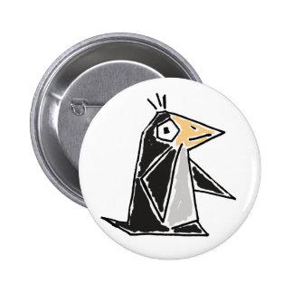 Bouton génial de bande dessinée de pingouin d'AU Badges Avec Agrafe