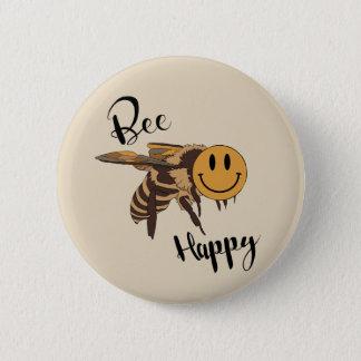 Bouton heureux d'abeille pin's