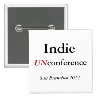 Bouton indépendant d'UNconference Badge