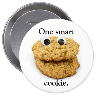 Bouton intelligent de biscuit badges