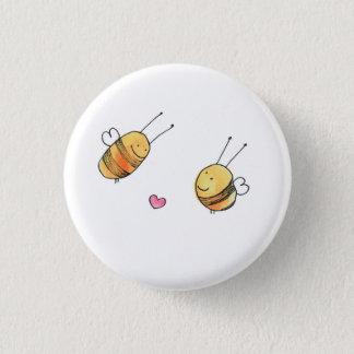 Bouton mignon d'abeille badge