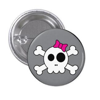 Bouton mignon de Skully Pin's Avec Agrafe