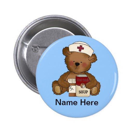 Bouton mignon d'infirmière badges avec agrafe
