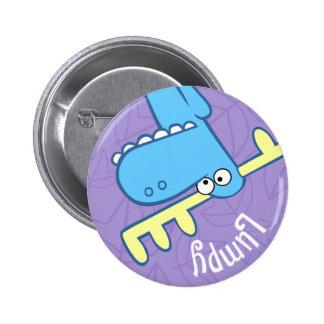 Bouton mignon grumeleux badges