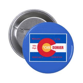 Bouton national de Denver de convention démocrate Badges
