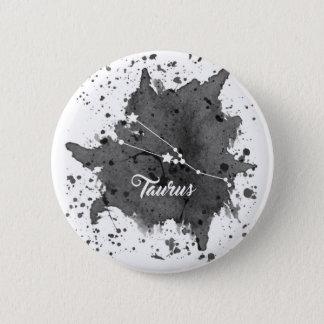 Bouton noir de Taureau Badges