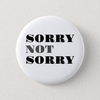 Bouton non désolé désolé badges