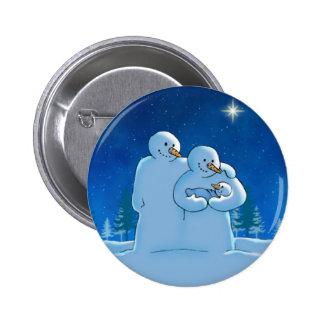 Bouton nouveau-né badge avec épingle