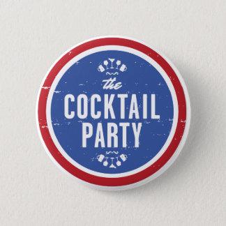 Bouton officiel de cocktail badge