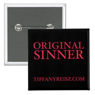 Bouton original de Sinner Badge