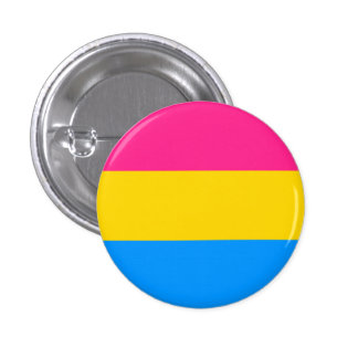Bouton Pansexual de drapeau Badge