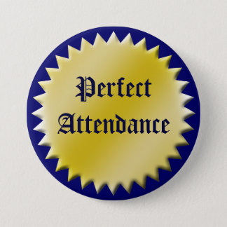 Bouton parfait de récompense d'assistance, badge