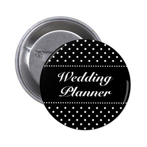 Bouton | Personalizable de pinback de wedding plan Pin's Avec Agrafe