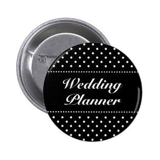 Bouton   Personalizable de pinback de wedding plan Badge Rond 5 Cm
