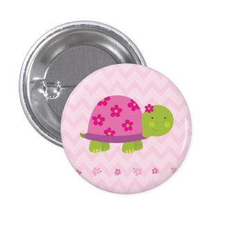 Bouton personnalisé par tortue mignonne pour des badge