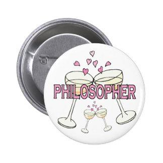 Bouton : Philosophe Badges Avec Agrafe