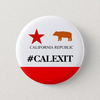 Bouton politique de drapeau historique de Calexit Pin's