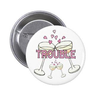 Bouton : Problème Badge Rond 5 Cm