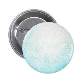 Bouton rond d'aquarelle de planète d'Uranus Badge