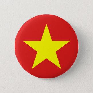 Bouton rond de drapeau du Vietnam Badges