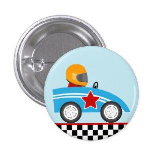 Bouton rond de goupille de voiture de course pin's
