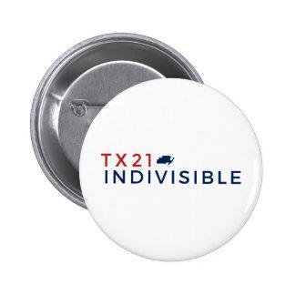 bouton rond de pouce de 2 ¼ badge