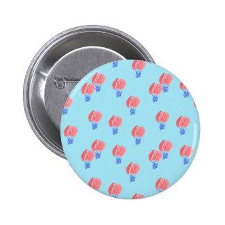 Bouton rond standard de ballons à air badge