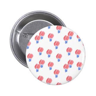 Bouton rond standard de ballons à air pin's