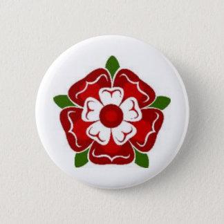 Bouton rose de Tudor Pin's