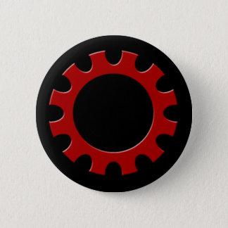 Bouton rouge de dent ! badges