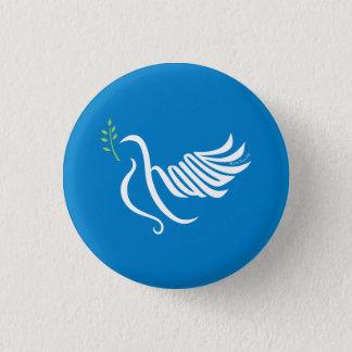 Bouton Shalom de colombe de paix Badge