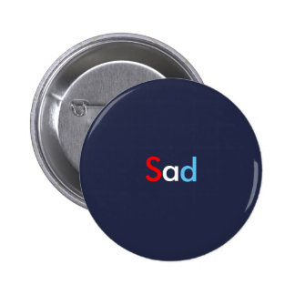 Bouton triste pin's