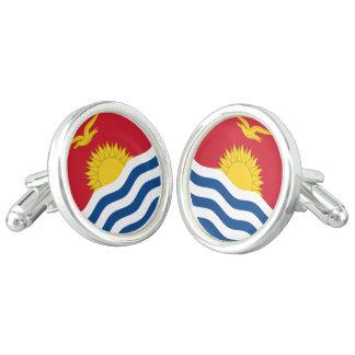 Boutons De Manchette Drapeau du Kiribati