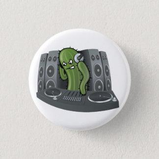 Boutons du DJ de cactus Badge
