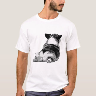 Bouts de corgi t-shirt