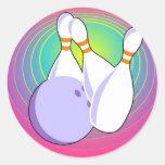 Bowling de Dix bornes Adhésifs Ronds