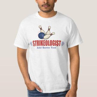 Bowling drôle t-shirts