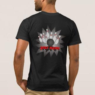 Bowling personnalisé t-shirt