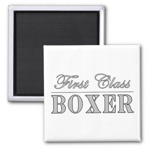 Boxe et boxeurs : Boxeur de première classe Magnets Pour Réfrigérateur
