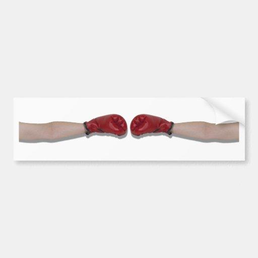 BoxingHandshake060910Shadow Autocollant Pour Voiture