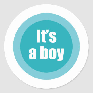 boy10 sticker rond
