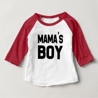 Boy de maman drôle, chemise de bébé t-shirt pour bébé