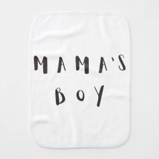 Boy de maman - linge de bébé de citation