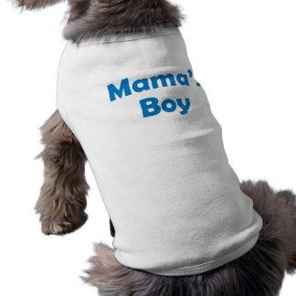 Boy de maman - T-shirt de chien