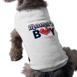 Boy Dog Shirt de maman Vêtements Pour Animaux Domestiques